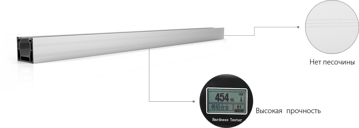 Third-generation aviation aluminum beams
